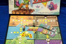 Rare vintage MB Board games