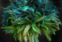 Peacock Feather Wedding :)