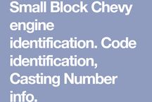 Small Block Chevy Engine Codes