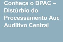 Processamento Auditivo Central