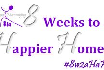 "8 Weeks to a Happier Home / Join the movement to tidy up your home, one ""zone"" per week! / by Beyond Mommying"