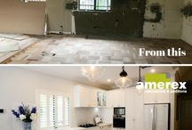 Before and After Home Renovation Ideas / Before and After Home Renovation ideas and inspiration. View some fantastic home makeovers and home transformations and get inspiration for your own home renovation project.