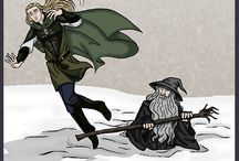 elves / elves, hobbits, Middle earth, LOTR