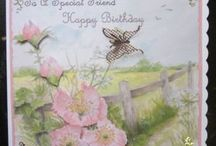 A Walk in The Countryside----cards for sale / hand crafted cards