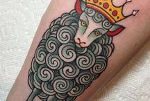 Tattoo sheep