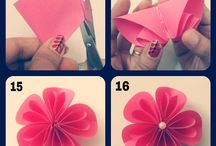 Origami floare