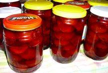 zavařování a nakládání ovoce
