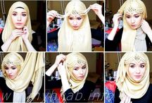 Hijab style and tutorial / about style of hijab and the tutorial