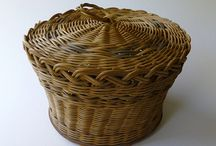 Basketry - lidded baskets