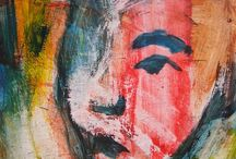 Abstract Notions by Madsahara / Acrylic paintings by Madsahara. Portraits, landscapes, and dreams.