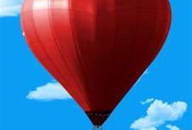 Up, Up, and Away - Hot Air Balloons / Full of hot air! / by Audrey Karwandy