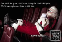 Holiday Wishes / Happy Holidays from  Creative House Studios!