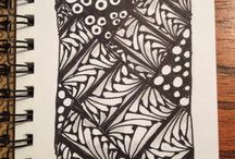 Made by me / Zentangles made by me