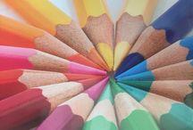 BrushLove / Painting...-porzelain, pastell, akvarell