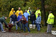 We love our Volunteers! / Persons, groups, businesses who help out on the trail