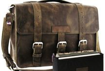 Leather Briefcase / This board features stylish leather briefcases for men and women! For more quality leather briefcases, bags and accessories go to http://www.copperriverbags.com/