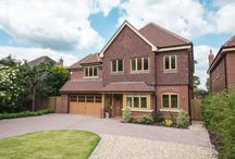 Case Study: The Pines / Our clients have done a fantastic job with these gorgeous new builds in West Sussex. The stunning redbrick properties are complete with PDS high quality timber doors, timber windows and bespoke joinery.