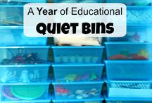 Quiet Bins/Nap Time Bags