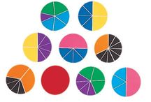 Fractions / All kinds of manipulatives and games to help wih fractions.