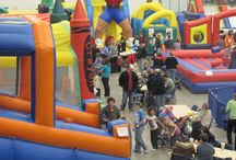 Jumpin' Jack Frost / Inflatable games event