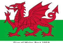 The Different Flags of Wales / Flags of Wales