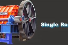 Single and Double toothed roll crusher
