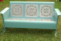 Vintage Gliders~Chairs~Loveseats