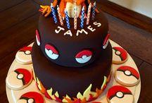 charzard birthday cakes / Ben's 8th Birthday
