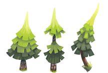Foliage game art