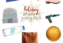 Christmas Holiday Gift Guides / Sharing the best collections to kickstart your holiday shopping.