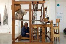 weavers / textile artists, studios