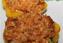 Recipes - Stuffed Peppers / by Spring Scott