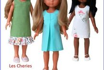 """13"""" Les Cheries Paola Reina Doll Clothes Patterns / Clothes sewing patterns for 13"""" dolls accessible at www.ik-patterns.com with links to patterns"""