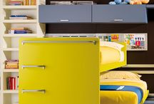 Kids Bedroom - ZOE / ZOE collection is an adventure in the world of kids to design a creative space. Wooden bedroom for children.