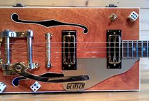 Cigarbox guitar / Inspiration for my next DIY cigarbox guitar