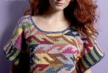 knit sweater-top