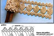 Bordes a crochet / Tejido / by Gilda Monardez