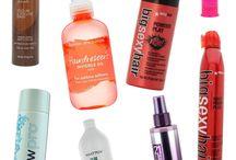 προϊόντα και μάσκες μαλλιών