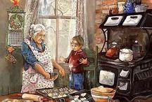 Großeltern, Omas und Opas
