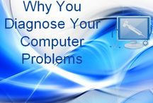 Urgent Tech Help Diagnosing Computer Problems Service / Don't neglect you PC and Laptop, if you facing any problem because it may crash your system permanently. Try to do diagnose your computer to solve each and every minor problems