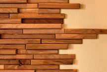 Tiles instead of wood for walls