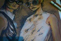 my art - illustration, wall painting, drawing...