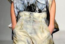 festett textilek/ruhák