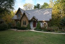Metal Roof Shingles / Homes displaying beautiful metal roofing shingles.