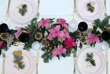 Christmas Table *PdB* / Inspiración para mesas de Navidad