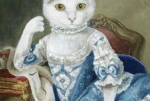 фото regal cats in oil 1