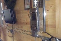 Log home wiring