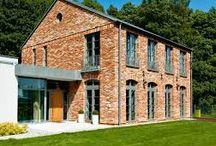 domy z cegły