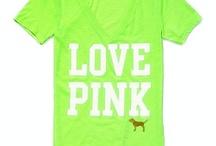 Love PINK / by Melissa Slocum
