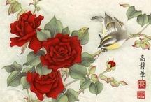 Jinghua Gao Dalia / http://www.dailypaintworks.com/artists/jinghua-gao-dalia-1212 http://brushmagic.blogspot.com/